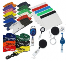 ID CARD HOLDER   -   LANYARDS   -    BADGE REELS